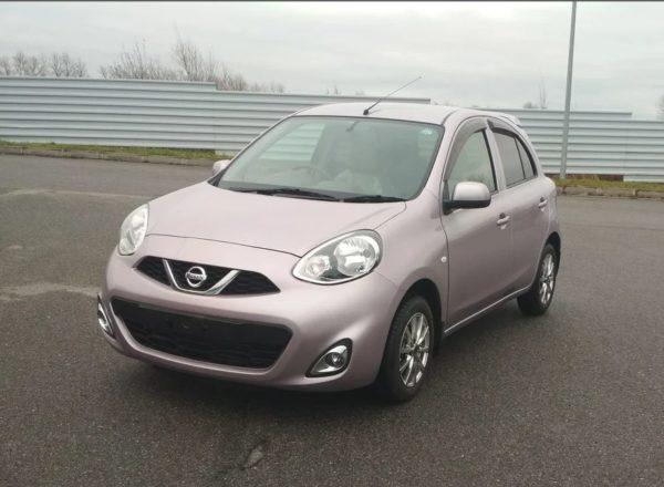Nissan March IV (K13) Рестайлинг